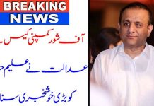 aleem khan issue with nab